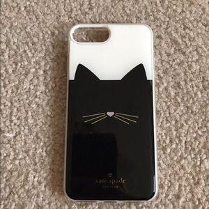 Kate Spade cat iPhone 7/8 Plus case